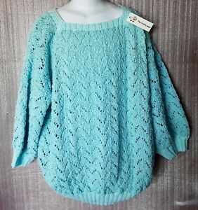 WOMEN'S HAND-MADE WRAP OVER COTTON BALLET TOP SIZE 12 TO 14