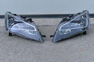 HEADLIGHT SCHEINWERFER SET SEAT LEON 3 III 5F0  FULL LED 2012- ORIGINAL OEM