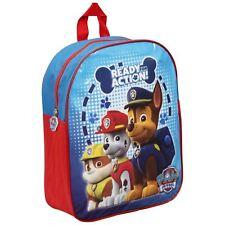 PAW PATROL Kids Junior School Backpack Chase Marshall Rubble Rucksack Bag NEW
