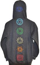 Rainbow Bridge Chakra Hoodie, NWT, Yoga, Reiki, Unique Yogi Gift, Embroidered