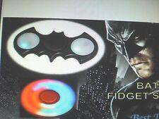 "Led ""Blue""Batman Fidget Spinner Hand Toy Stress Reducer-Focus-New In.Box"