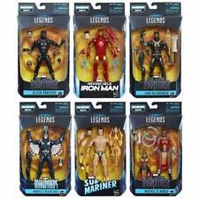 NEW! Hasbro Marvel Legends Black Panther 6 Inch Action Figures. Wave 1. Complete