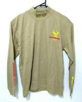 Safariland Mens Shirt Size S Sports Shooting Brown Long Sleeve (Fits S - Medium)