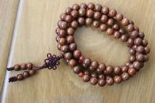 ML197 Vintage Tibetan Buddhist 10mm Bodhi Seeds108 Mala Beads Prayer Necklace