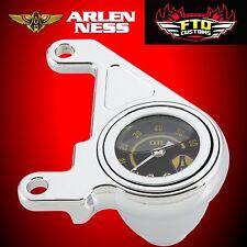 Arlen Ness Oil Pressure Gauge Kit & Bracket 1999-up Harley Twin Cam 15-658