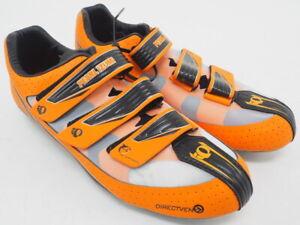 New! Pearl Izumi Men's Octane III RD Road Cycling Shoes Size EU 43 US 9 Orange