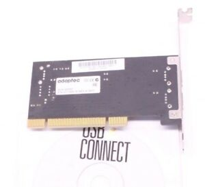 Adaptec AUA-2000C Internal PCI to USB Board Addon Cards for Computer PC