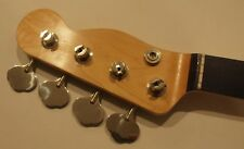 AllParts Bass Neck for Fender Precision Tele headstock w Tuners fits Jazz PRO