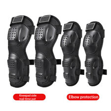 4Pcs Motorcycle Bike Racing Armor Gear Guard Protection Body Knee Pads Elbow Pad