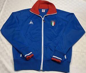Le Coq Sportif Italia 1980's Soccer Champion Jacket Men Sz L Rare/Collectible