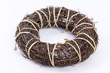 20cm Circle Wreath WILLOW WREATH RINGER  WILLOW WREATH RING  Primitive wreath