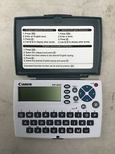 Canon Japanese English Electronic Dictionary WordTank Idp-600E
