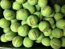 Lot of 125 Used Yellow Tennis Balls