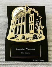 Haunted Mansion 50 Years 2019 Original D23 Gold Member Pin New