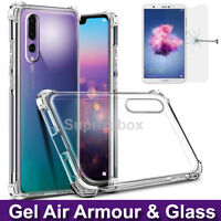 Case For Huawei P20 Pro 360° Silicone Gel Shockproof Cover & Tempered Glass