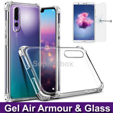Case for Huawei P20 Lite 360° Silicone GEL Shockproof Cover & Tempered Glass