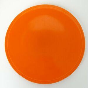 Homer Laughlin Pottery Fiesta Kitchen Kraft Orange Cake Plate unmarked