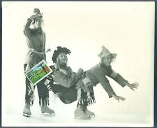 1953 Shipstads And Johnson Ice Follies The Scarecrows Press Release Photo skate