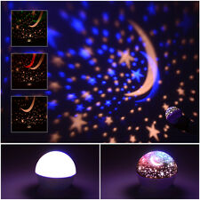 Rotating LED Starry Sky Star Projector Lamp Baby Kids Night Light Cosmos Master