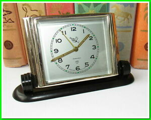 Soviet Vintage Slava Pioner Alarm Clock USSR 1962~Perfect Condition #233212