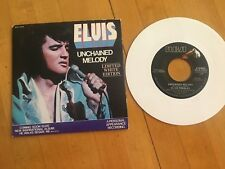 Elvis 45rpm record w/ Sleeve, Unchained Melody, Limited Edition White Vinyl