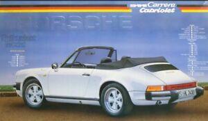 1/24 Fujimi - Porsche 911 Carrera Cabriolet 85- Plastic Model Kit