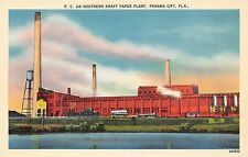 USA Fla. Panama City Southern Kraft Paper Plant factory, industry
