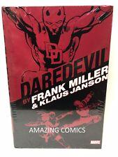 Marvel DAREDEVIL FRANK MILLER & KLAUS JANSON OMNIBUS Hardcover HC - MSRP $125