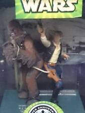 STAR WARS Han solo with Cewbacca Silver annivesary TOMY  from Japan F/S