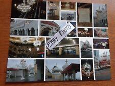 TRUMP TAJ MAHAL CASINO 8 x 10 COLOR PHOTO COLLAGE 19 PICS 1 DAY BEFORE CLOSING-A