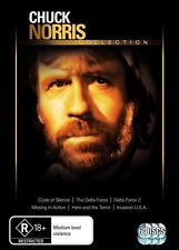 Chuck Norris Collection - Delta Force / Delta Force 2 / Missing In Action / Hero