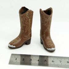 XE58-03 1/6 Scale HOT Female Cowgirl Female Boots (hollow) TOYS
