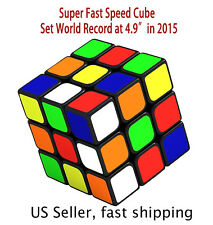 Fastest Speed cube 3x3 magic twist puzzle ,World Record 4.9s setting brand