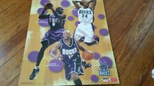 Basketball Milwaukee Bucks Original Vintage Sports Posters