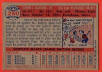 1957 Topps #250 Eddie Mathews EX WRINKLE Milwaukee Braves HOF FREE SHIPPING
