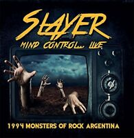 Slayer - Mind Control...Live: 1994 Monsters Of Rock Argentina (2018)  CD  NEW