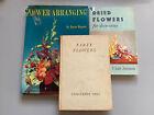 Job+Lot+3+Vintage+Books+on+Flower+Arranging.+Constance+Spry+%26+Others