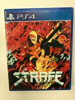 Strafe PS4 Complete CIB Tested Playstation 4 Sony