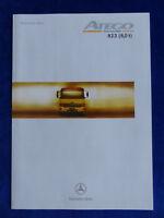 Mercedes-Benz Atego 823 (8,0 t) - Technische Daten - Prospekt Brochure 01.1998