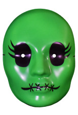 """Tragedy Girls"" Sadie Cunningham Green Vacuform Mask Movie Horror Character"