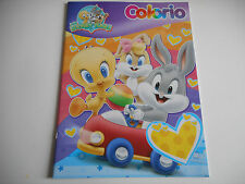 LIVRE DE COLORIAGE - BABY LOONEY TUNES - 16 PAGES / 32 DESSINS