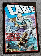 Cable 1993 Fabian Nicieza Art Thibert X-Force Movie Marvel PROMO RARE Poster VF