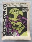 1986 Vol. 8 No. 2 Overthrow Newspaper Underground Conspiracy Graffiti Art Poster