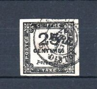 "FRANCE STAMP TIMBRE TAXE YVERT N° 5 "" CHIFFRE TAXE 25c NOIR  "" OBLITERE TB T699"