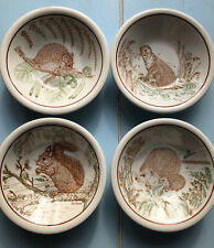 More details for john tams royal society for nature conservation set of four wildlife bowls