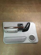 97-01 JEEP CHEROKEE XJ SPORT CLASSIC POWER DRIVER SIDE DOOR PANEL Woodgrain OEM