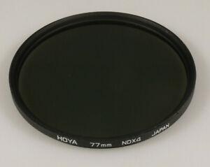 PRL) HOYA 77 mm NDX4 NEUTRAL DENSITY ND FILTRO FILTER FILTRE FILTAR FILTRU FOTO