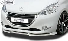RDX Frontspoiler Spoiler Lippe für Peugeot 208 12-6/19