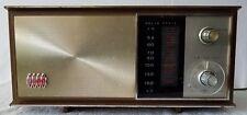 Antique Vintage Ross Electronics Model RE-190 AM/FM Analog Turner Sand Radio