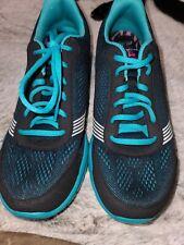 Abeo Spirit Black Teal Tennis Shoes